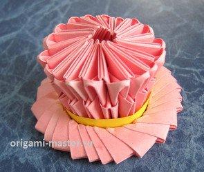 Сделать оригами пикачу