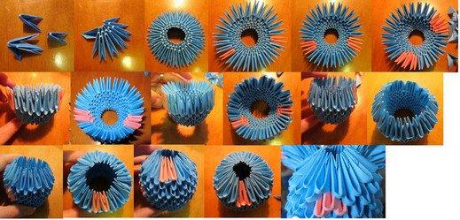 оригами модульное мастер класс