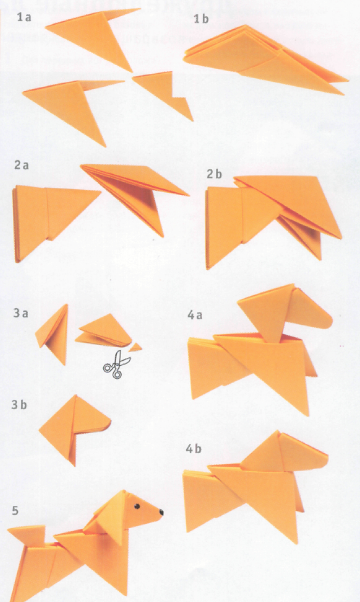 Модульное оригами для детей