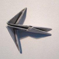 Петушок оригами схема для детей фото 421